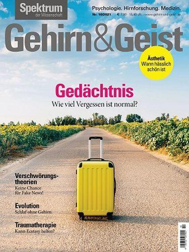 Cover: Spektrum der Wissenschaft Gehirn & Geist No 10 2021