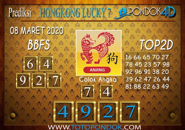 Prediksi Togel HONGKONG LUCKY 7 PONDOK4D 08 MARET 2020