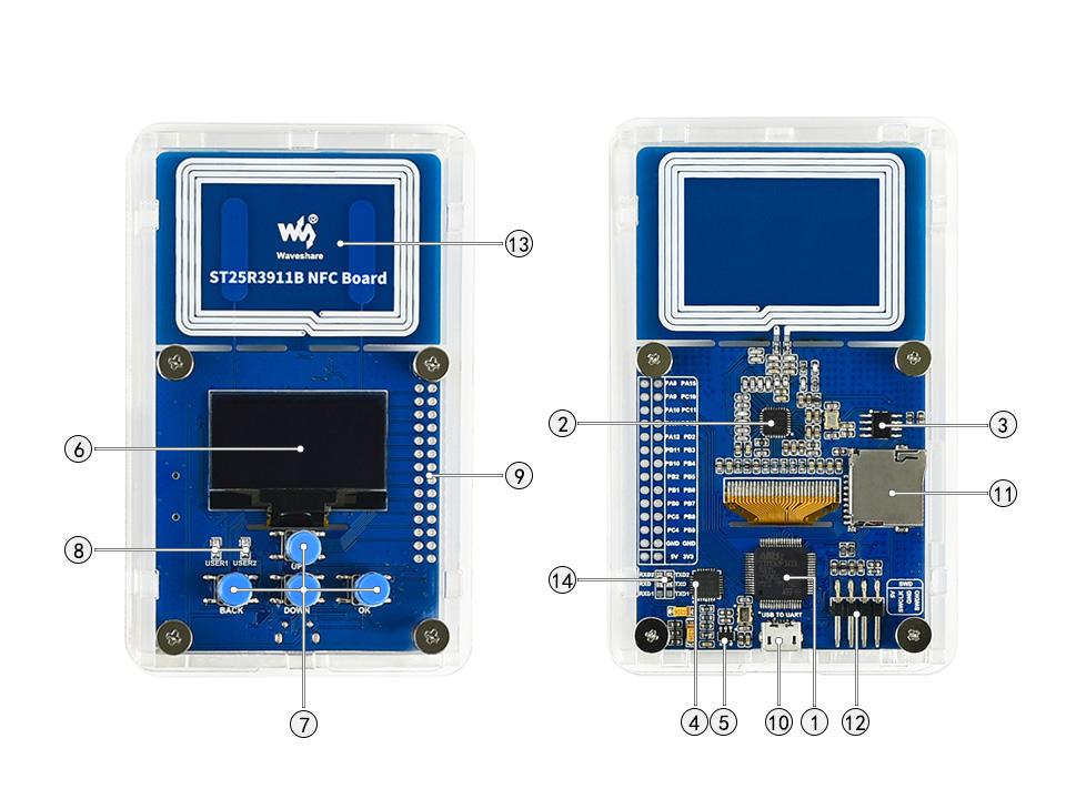 ST25-R3911-B-NFC-Board-intro