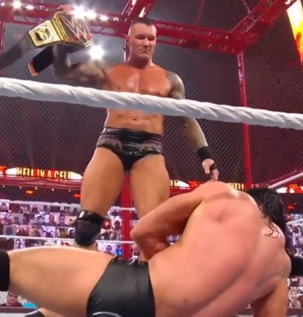Randy Orton Nuevo Campeón de WWE vence a Drew McIntyre