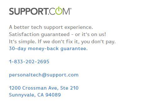 Support.com Number