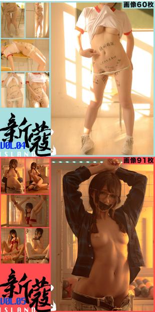 【新蔻岛シンコウジマ】vol.01 – vol.05 05卷的model是nagesa魔物喵