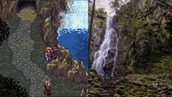Secret of Evermore cascade de Burgbach