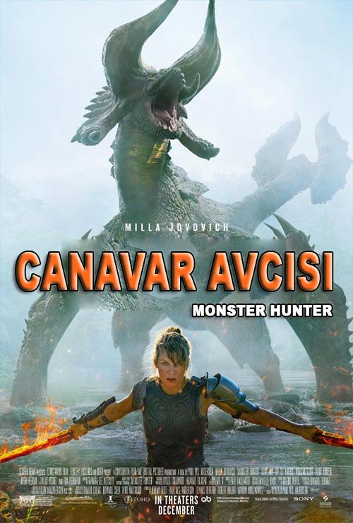 Canavar Avcısı | Monster Hunter | 2020 | m720p - m1080p | BluRay | Türkçe Altyazılı | Tek Link