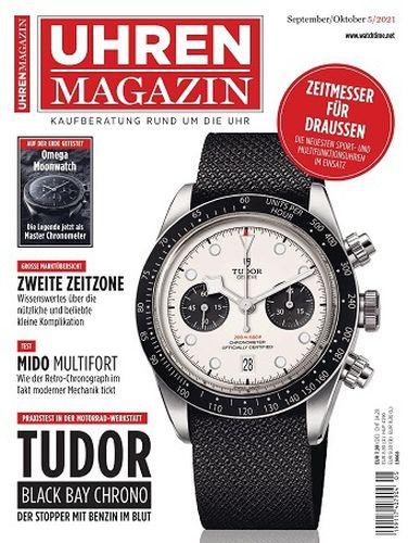 Cover: Uhren Magazin No 05 September-Oktober 2021