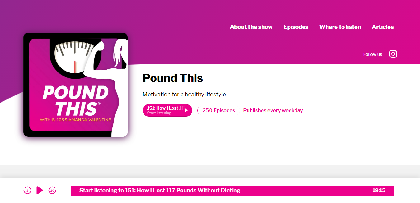 The Pound This travel product recommended by Amanda Valentine on Pretty Progressive.