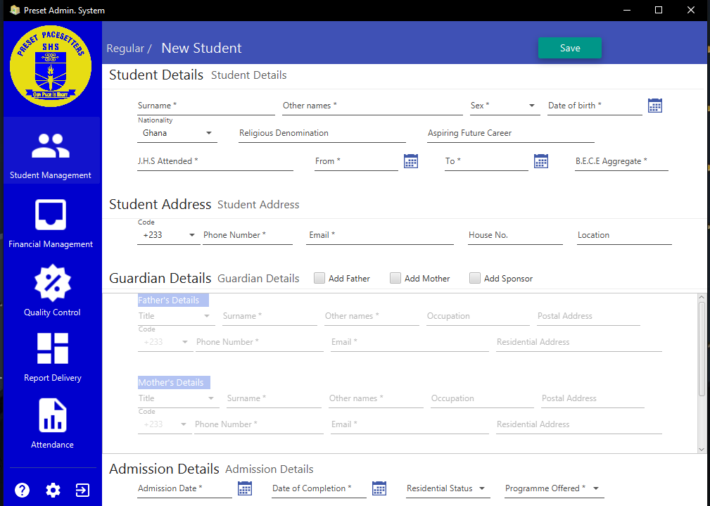 Système de gestion des étudiants en Java avec code source