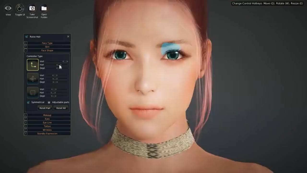 Black Desert Online Custom Creation