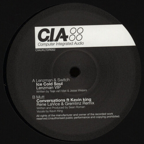 Download Lenzman & Switch / Mutt - Ice Cold Soul / Conversations (Remixes) mp3