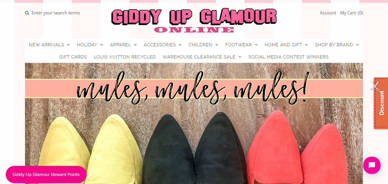 The Giddy Up Glamour travel product recommended by Nancy Christian on Pretty Progressive.