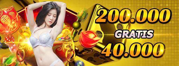 200.000 gratis 40.000 -TO x6