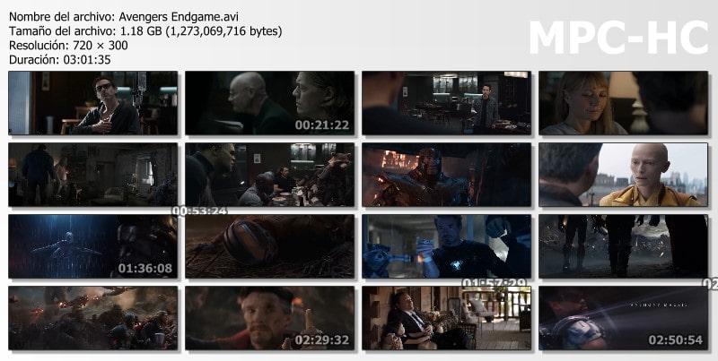 Avengers: Endgame Capturas