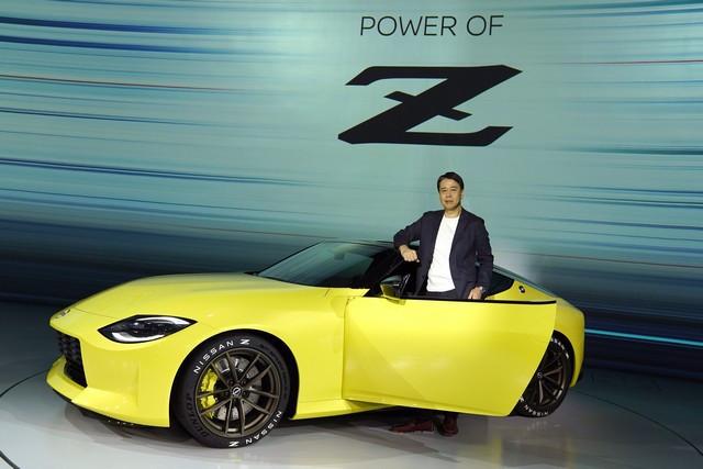 Le Nissan Z Proto : Inspiré Du Passé, Tourne Vers Le Futur 200916-01-059-source
