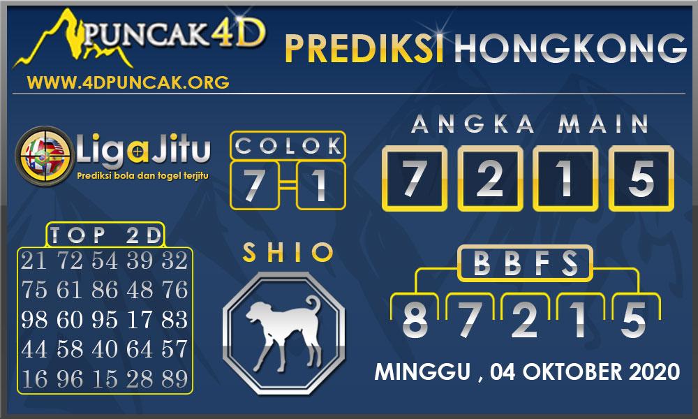 PREDIKSI TOGEL HONGKONG PUNCAK4D 04 OKTOBER 2020