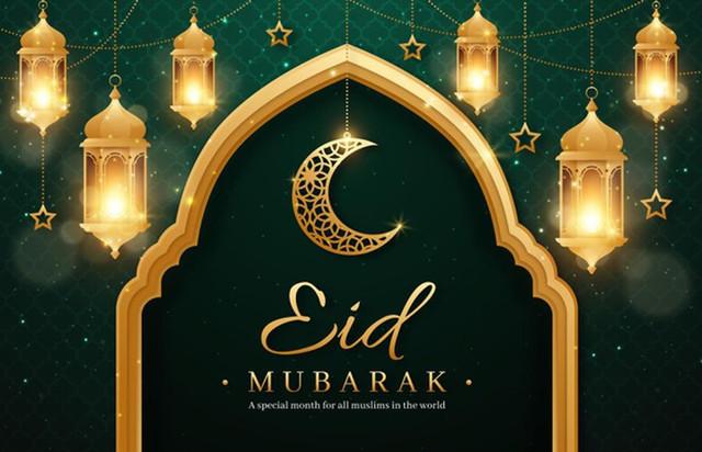 realistic-eid-mubarak-background-with-candles-moon-52683-37595