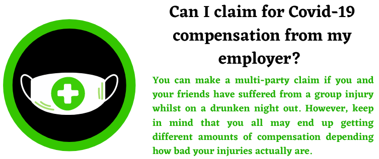 Covid19 compensation and work accident claims