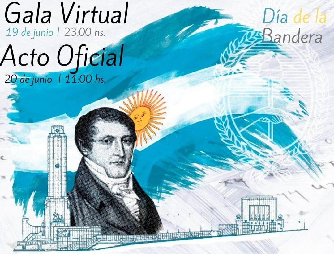Velada de Gala y Jura a la Bandera, virtuales