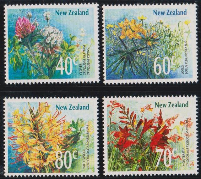 1989 NZ Wildflower set 03