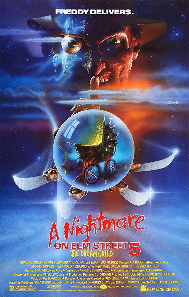 A Nightmare on Elm Street 5 The Dream Child 1989 Hindi Dual Audio 720p BluRay ESubs 650MB | 300MB Download