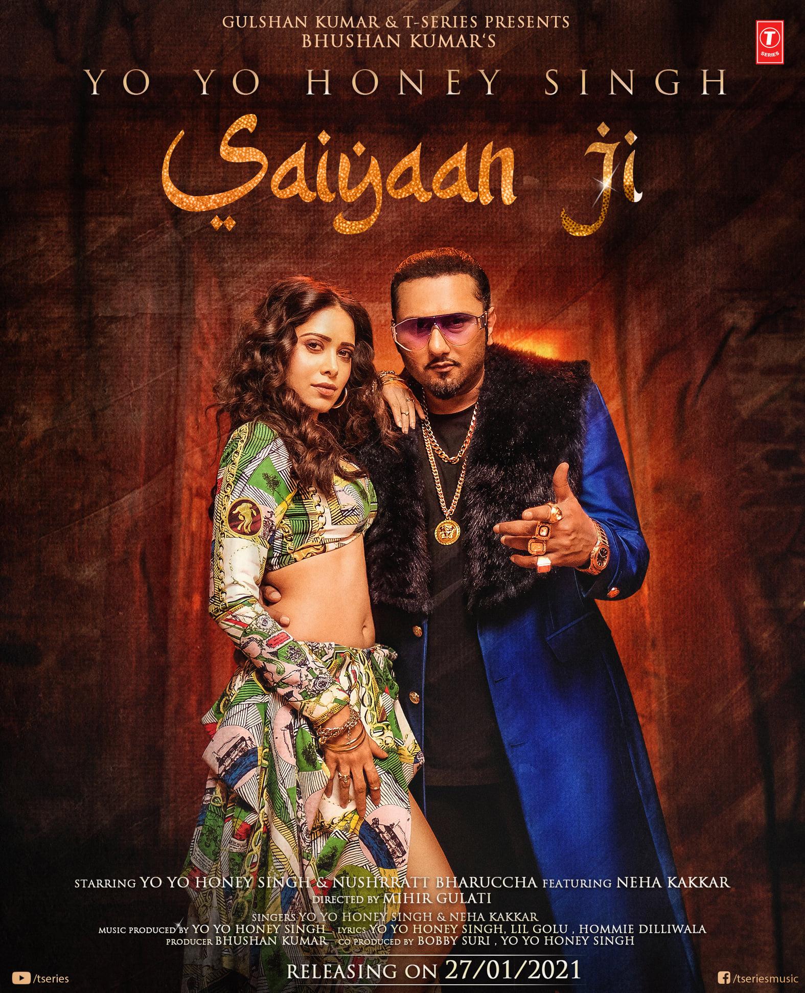 Saiyaan Ji By Yo Yo Honey Singh & Neha Kakkar Official Music Video (2021) HD