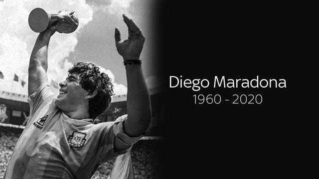 Baru Saja Berusia 60 tahun, Penyebab Diego Maradona Meninggal Dunia