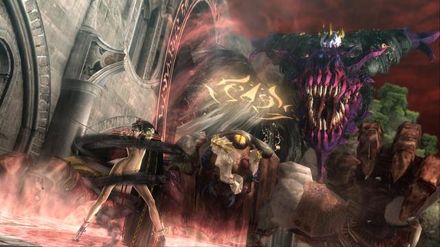 那份極致快感將降臨PlayStation®4! 『BAYONETTA&VANQUISH』第1彈遊戲情報公開! 『BAYONETTA』的故事及系統介紹!  15-call
