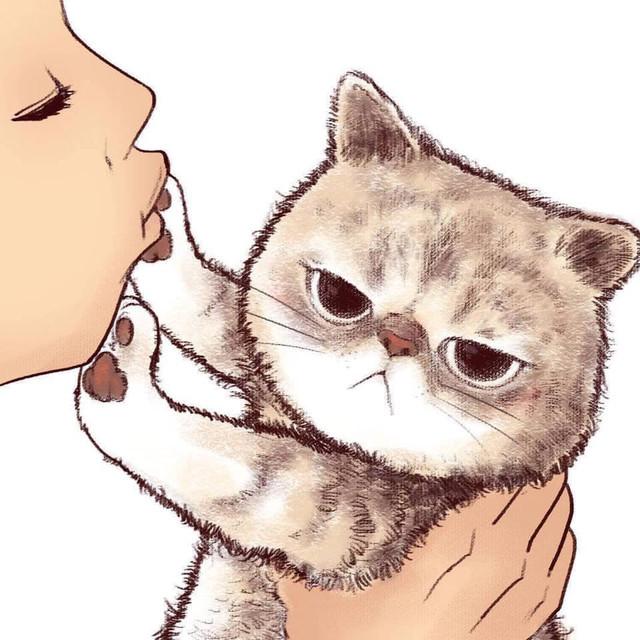 拒絕接吻的貓咪 87576548-112310127027921-236169252195794944-n