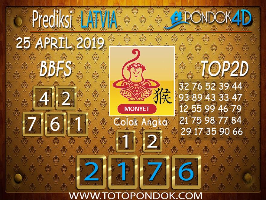 Prediksi Togel LATVIA PONDOK4D 25 APRIL 2019