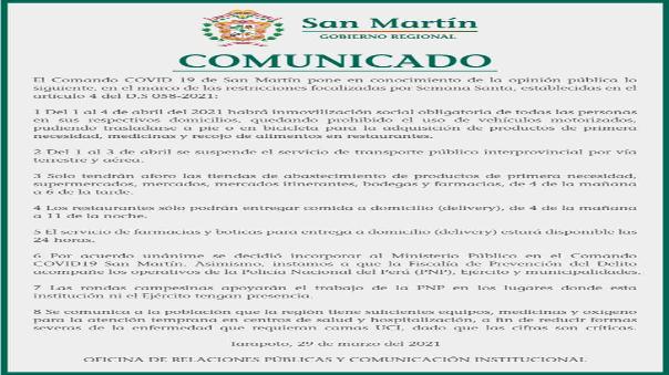 comando-covid-de-la-region-san-martin-hace-conocer-medidas-estrictas-a-pocos-dias-de-inamovilidad-total