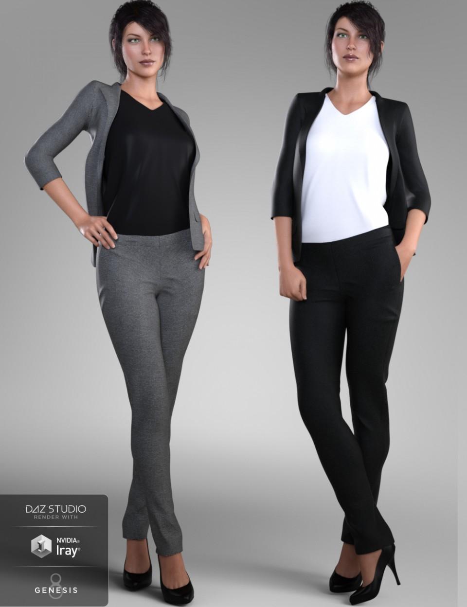 Stylish Workwear for Genesis 8 Female(s)