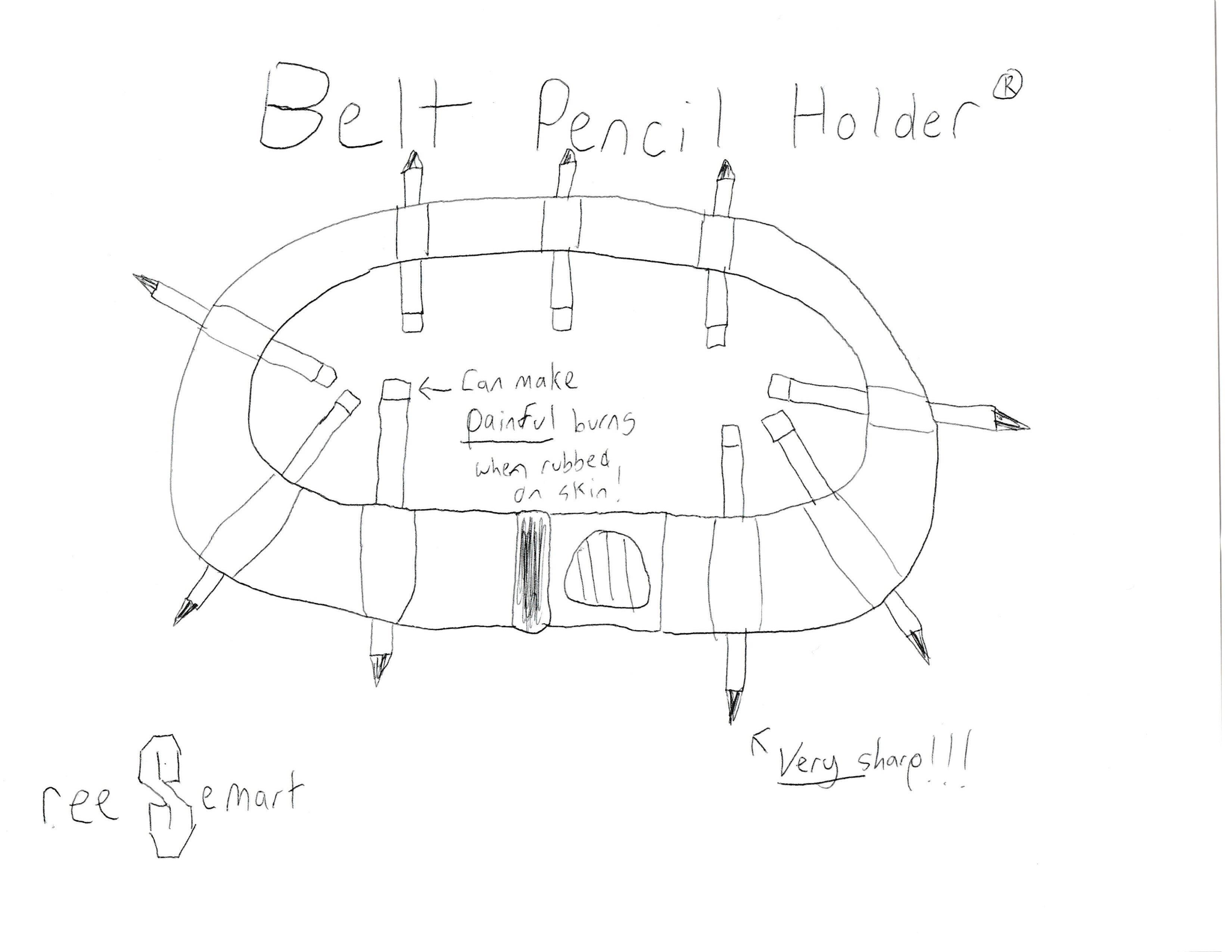 Belt Pencil Holder