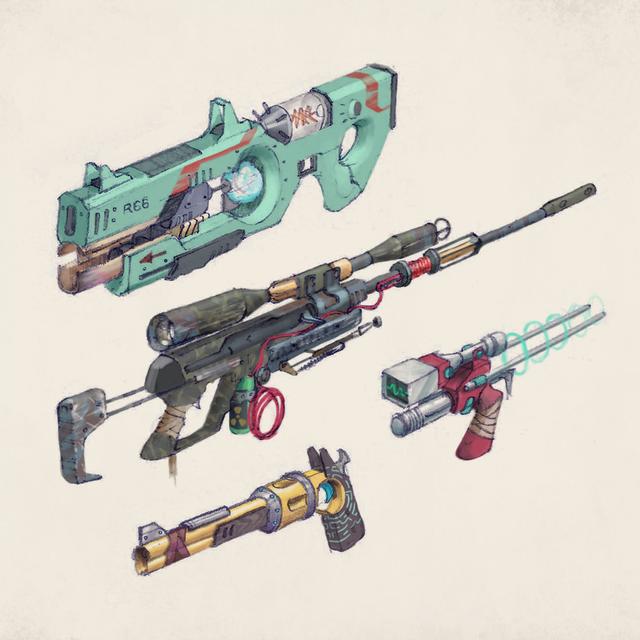 spaceguns