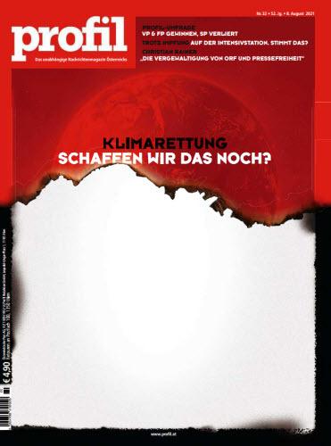 Cover: Profil Nachrichtenmagazin No 32 vom 08  August 2021