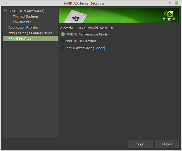 nvidia-x-server-settings