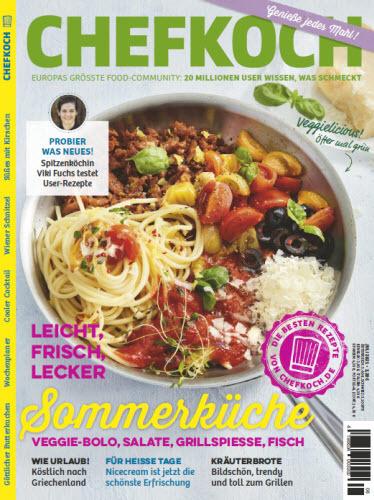 Cover: Chefkoch Magazin No 08 2021