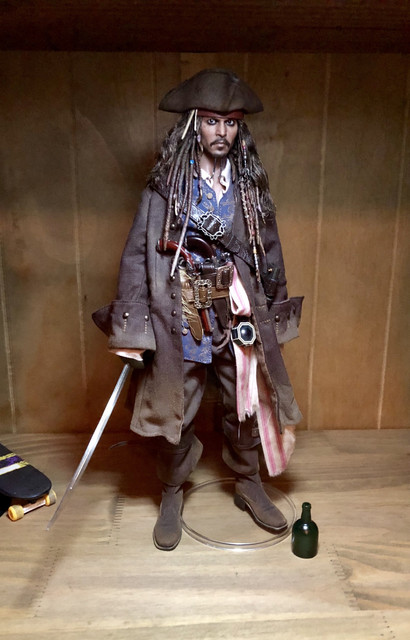 Third Party Action Figures Fur Scarf 1//6 Scale Captain Jack Sparrow