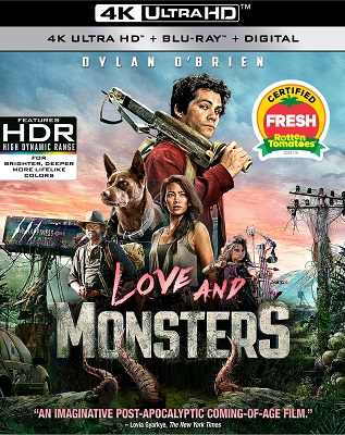 Love And Monsters (2020) UHD 2160p UHDrip HDR10 HEVC AC3 ITA + DTS ENG - ItalyDownload