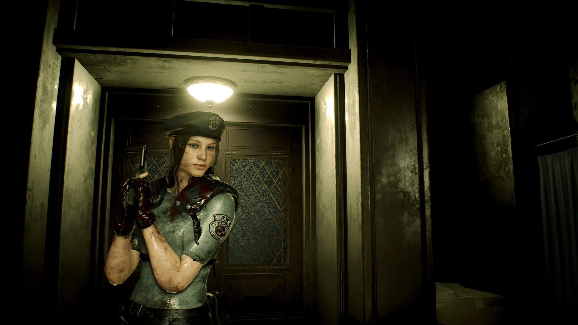 Claire Redfield with Ada Wong Hair at Resident Evil 2