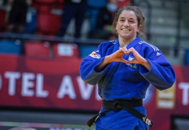 Timna Nelson Levy Israel Grand Slam Tel Aviv Jud