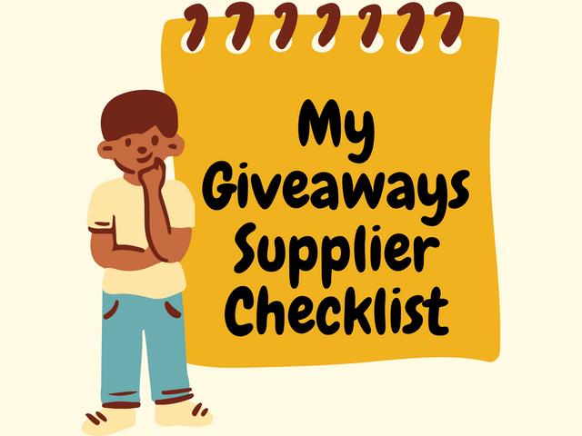 My-Giveaways-Supplier-Checklist