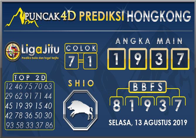 PREDIKSI TOGEL HONGKONG PUNCAK4D 13 AGUSTUS 2019