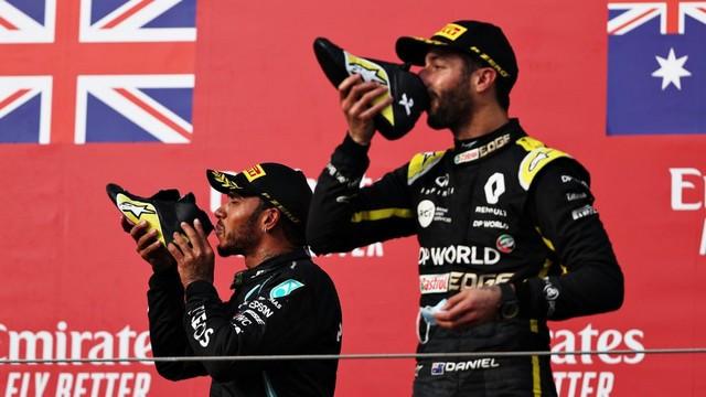 F1 GP Émilia Romagna 2020 : Vitoire Lewis Hamilton, le titre pour Mercedes Ricciardo-hamilton