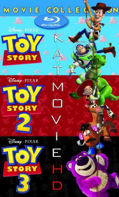 Toy Story Trilogy 1,2,3 (1995-2010) BluRay 480p 720p Dual Audio [Hindi + English]