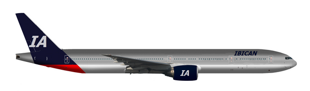 Ibican Airlines Livery