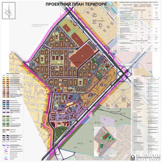 ДПТ Теремки 3 проектный план