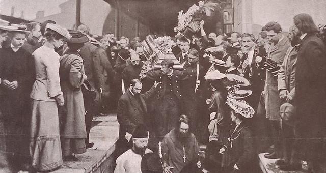 Chekhov-funeral