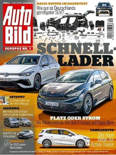 Cover: Auto Bild Magazin No 40 vom 07  Oktober 2021