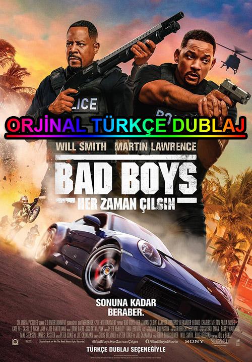 Bad Boys: Her Zaman Çılgın | 2020 | BDRip | XviD | Türkçe Dublaj | 4K - m720p - m1080p | BluRay | Dual | TR-EN | Tek Link
