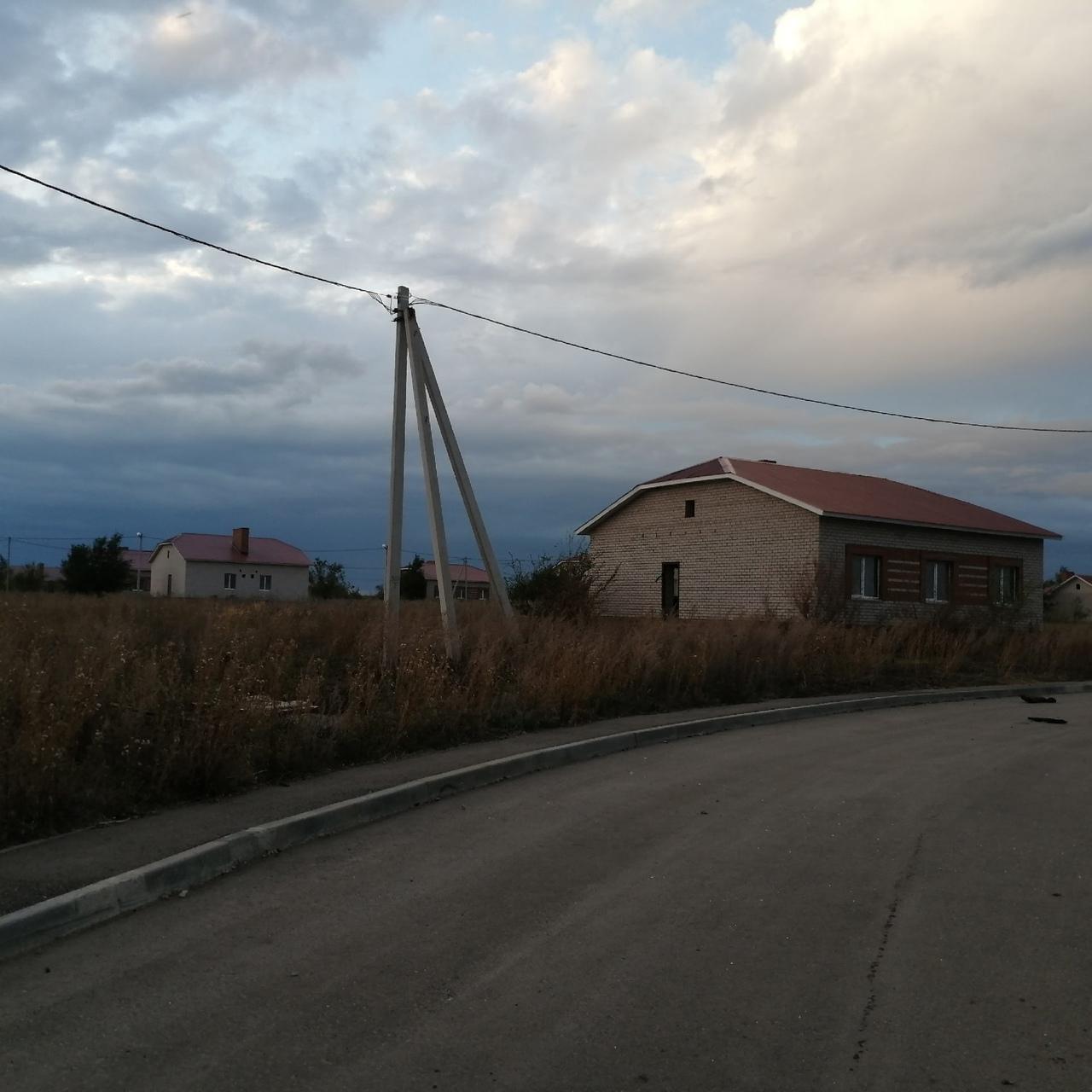 Заброшенный жилой комплект в Самарской области
