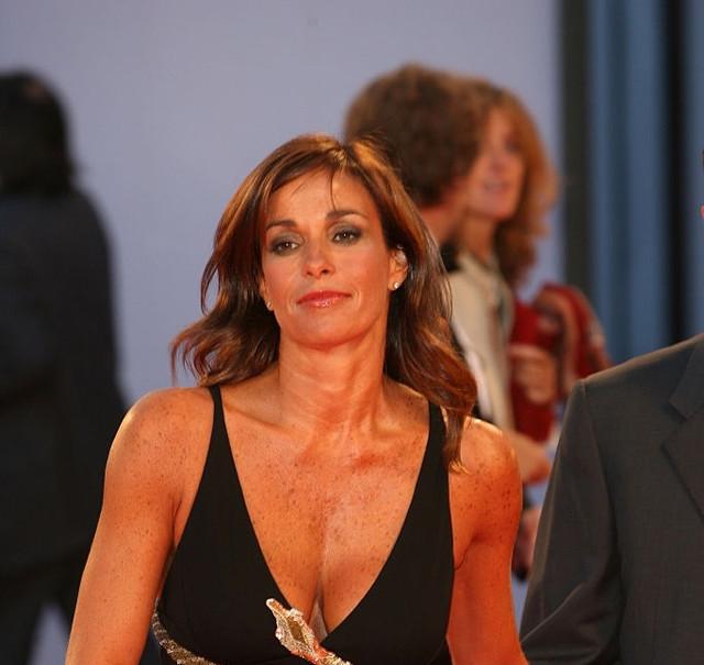 Christina Parodi during The 63rd International Venice Film Festival The Black Dahlia Premiere Red Ca